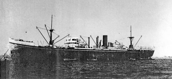 Dallas City at Anchor
