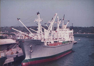 Josefa alongside in Tampico