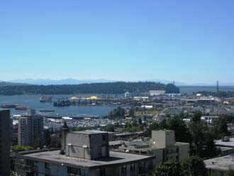 Vancouver Wharve on the North Shore