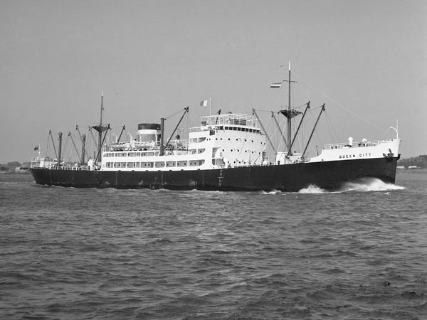Queen City under time charter