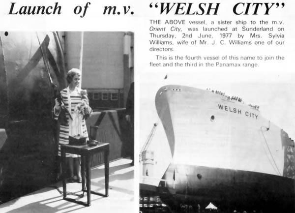 Launch of the Welsh City